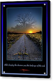 The Dreamer Acrylic Print by Phil Koch