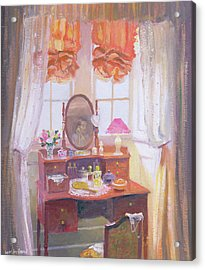 The Dressing Table Acrylic Print by William Ireland