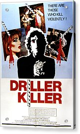 The Driller Killer, Abel Ferrara, 1979 Acrylic Print by Everett