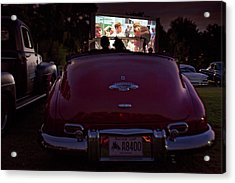 The Drive- In Acrylic Print