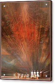 Acrylic Print featuring the photograph The Drumbeat Rising by Wayne King
