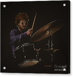The Drummer Acrylic Print