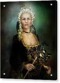 The Duchess Acrylic Print by Mary Hood