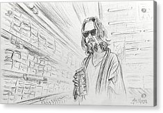 The Dude Abides Acrylic Print