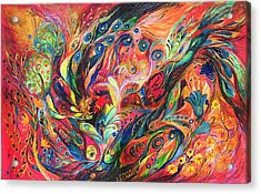 The Duel Acrylic Print by Elena Kotliarker