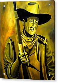 The Duke  Acrylic Print by Chris  Leon