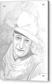 The Duke Acrylic Print by Dale Ballenger