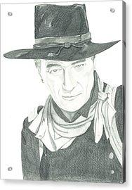 The Duke Acrylic Print by Seventh Son