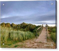 The Dune Bridge Acrylic Print