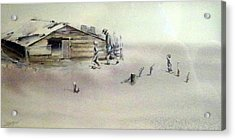 The Dustbowl Acrylic Print