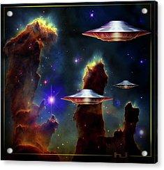 The  Eagle  Nebula  Acrylic Print