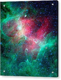 The Eagle Nebula In The Serpens Constellation Acrylic Print