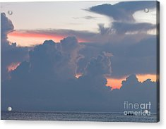 The Early Fishermen Gets The View Acrylic Print