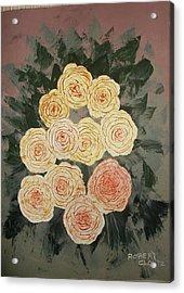 The Early Work Of Robert Clontz Acrylic Print by Anne-Elizabeth Whiteway