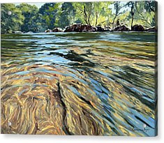 The East Dart River Dartmoor Acrylic Print