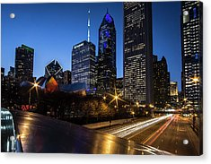 The East Side Skyline Of Chicago  Acrylic Print