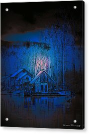 The Edge Of Night Acrylic Print