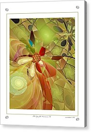 The Edge Of The Universe In Me Acrylic Print by Gayle Odsather