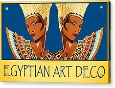 The Egyptian Twins Acrylic Print by Tara Hutton