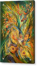 The Elegy Acrylic Print by Elena Kotliarker