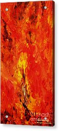 The Elements Fire #1 Acrylic Print