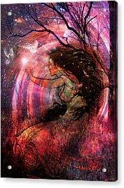 The Elements Wind Acrylic Print