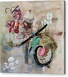 The Elitist Acrylic Print by Antonio Ortiz