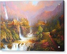 The Elves Kingdom Acrylic Print