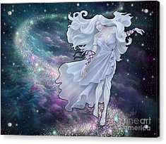 Acrylic Print featuring the digital art The Emancipation Of Galatea by Amyla Silverflame
