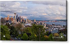 Acrylic Print featuring the photograph The Emerald City  by Anthony Citro