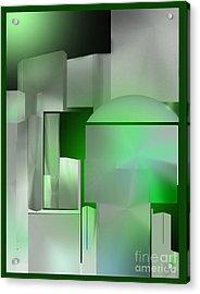 The Emerald City Acrylic Print