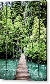 The Emerald Crossing Acrylic Print