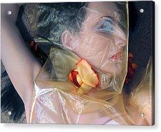 The Emotional Snag - Self Portrait Acrylic Print by Jaeda DeWalt