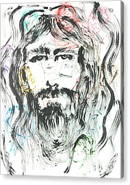 The Emotions Of Jesus Acrylic Print by Nadine Rippelmeyer