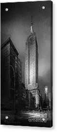 The Empire State Ch Acrylic Print by Marvin Spates