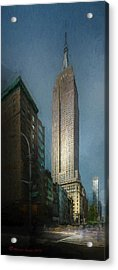 The Empire State Acrylic Print by Marvin Spates