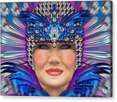 Acrylic Print featuring the photograph The Empress by Barbara Tristan