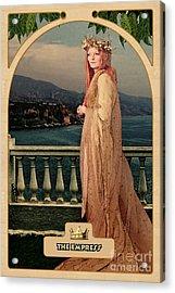 The Empress Acrylic Print by John Edwards