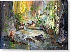 The Enchanted Pool Acrylic Print