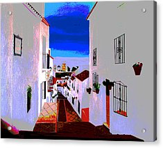 The Enchanted Village Of Mijas Acrylic Print