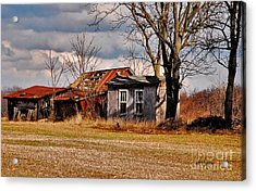 The End Of Days Acrylic Print by Lois Bryan