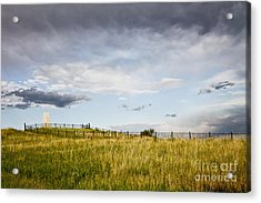 Acrylic Print featuring the photograph The End Of It All by Sandy Adams