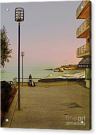 The End Of Summer Acrylic Print by Louise Fahy