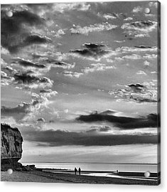The End Of The Day, Old Hunstanton  Acrylic Print by John Edwards