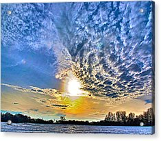 The End Of The Day Acrylic Print by Robert Pearson