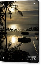 The End Of The Day Acrylic Print