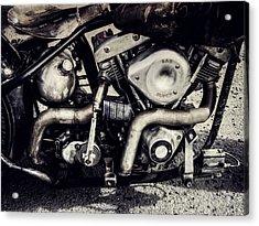 Acrylic Print featuring the photograph The Engine by Ari Salmela
