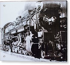 Acrylic Print featuring the photograph The Engine  by Jeanne May