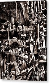 The Engineer World Acrylic Print by Olivier Le Queinec