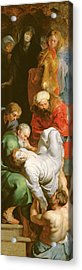The Entombment Of St Stephen Acrylic Print
